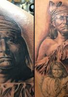 Brian Gonzales Native American Tattoo
