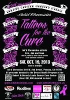 Tattoos for the Cure Flyer