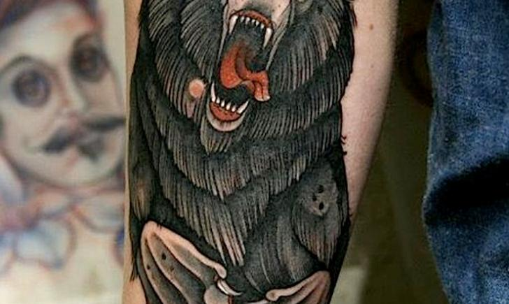 10 best bear tattoos for the wild at heart tattoo