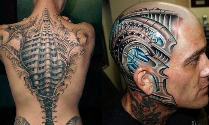 Unbelievable Realistic Cyborg Tattoo | Tattoo.com
