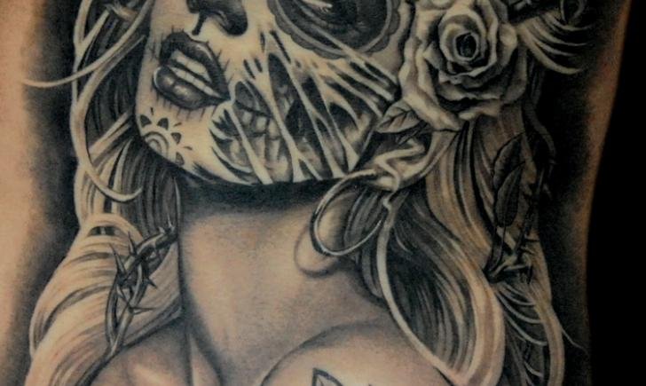 10 dia de los muertos tattoos. Black Bedroom Furniture Sets. Home Design Ideas
