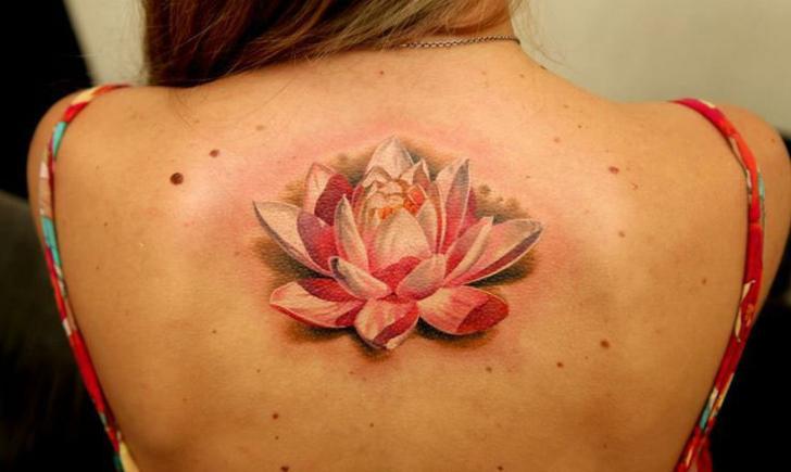 7 Beautiful Lotus Flower Tattoos   Tattoo.com