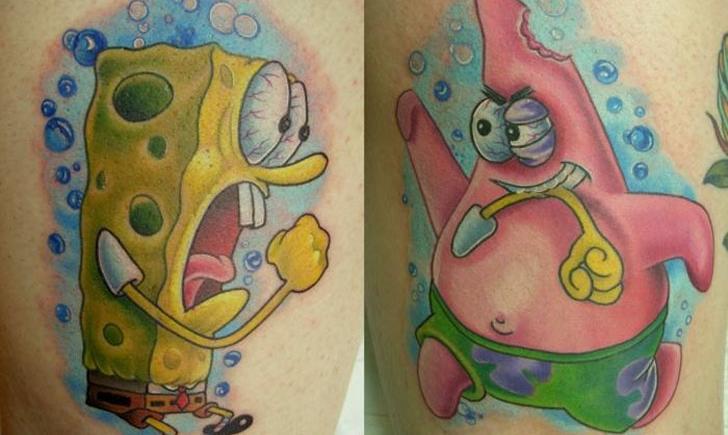 100 90s cartoon tattoos hybrid tattoo for 90s baby tattoos