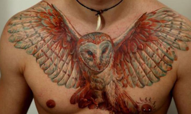 Myke Chambers Realistic Owl