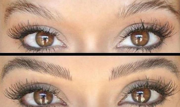 Natural Tattooed Eyebrows Www Pixshark Com Images