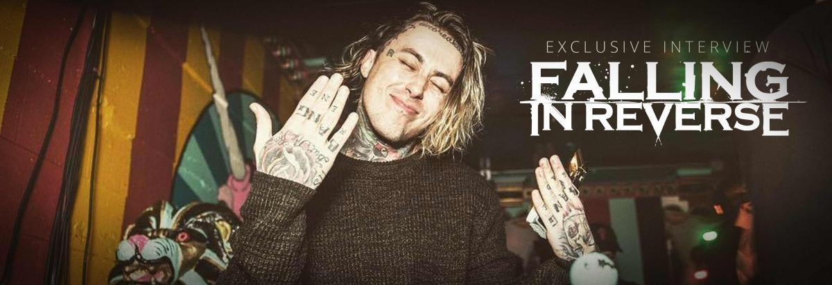 exclusive interview ronnie radke falling in reverse