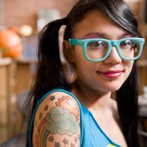 Cool tattooed people