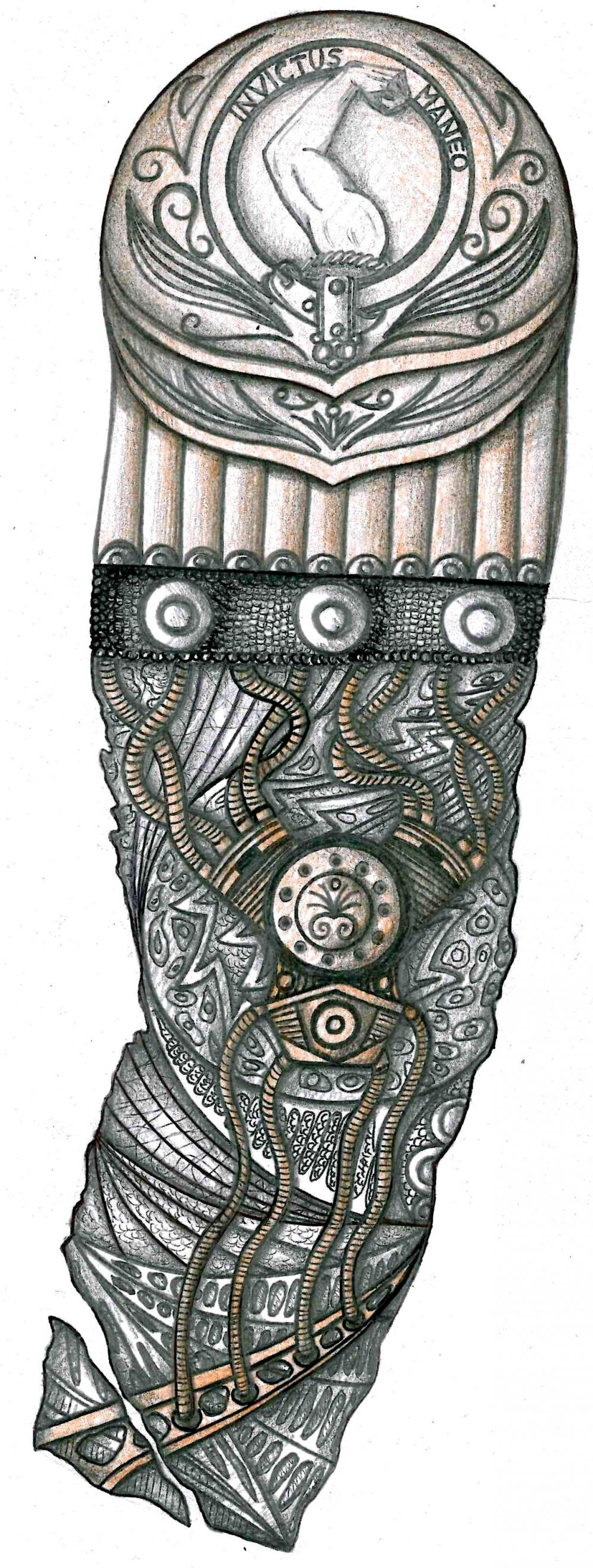 Ancient German Tattoos The Gallery For Nordic Warrior Symbols