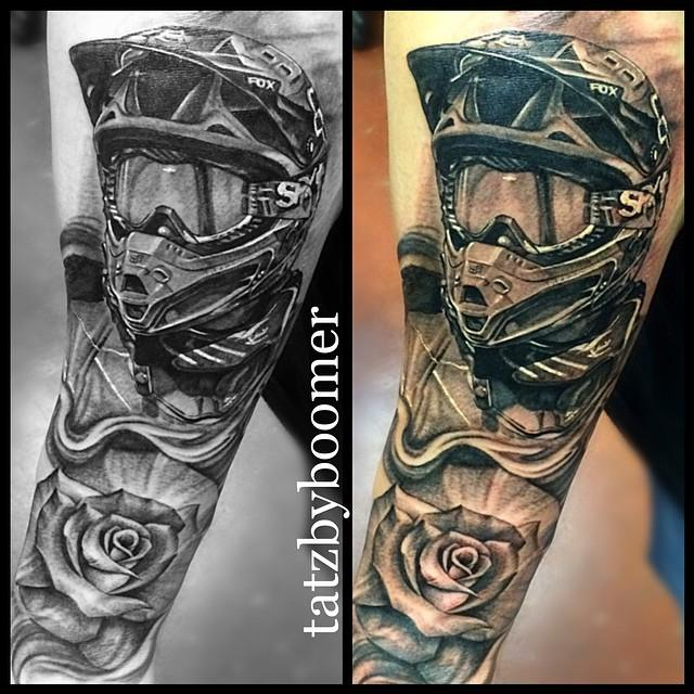 Motocross portrait by Boomer! | Tattoo.com