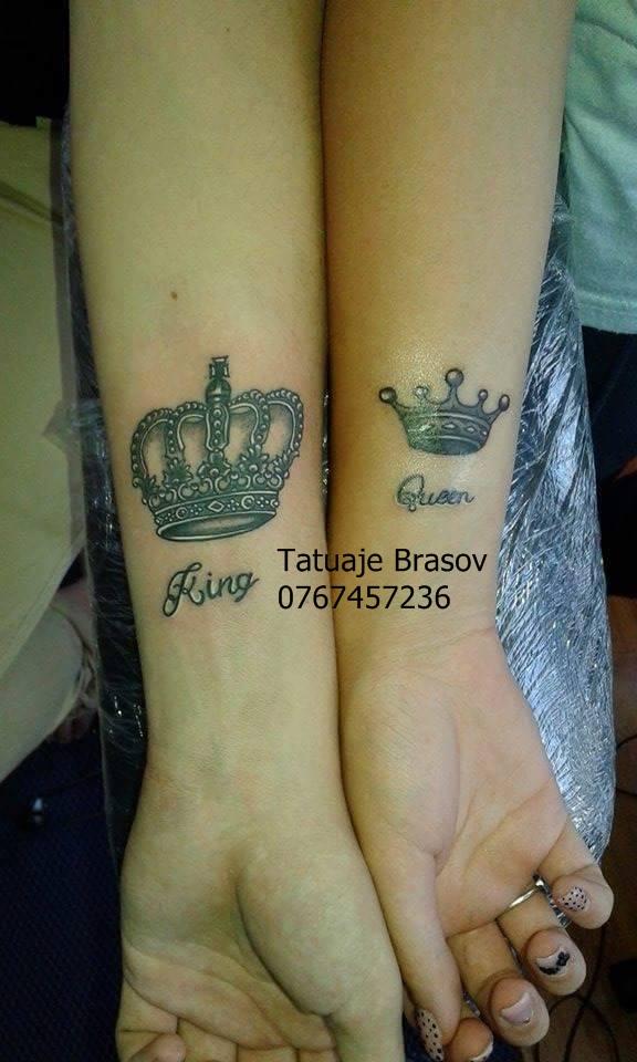 Tatuaje coroane king and qween krown tattoo krown tattoo for Tattoos for her