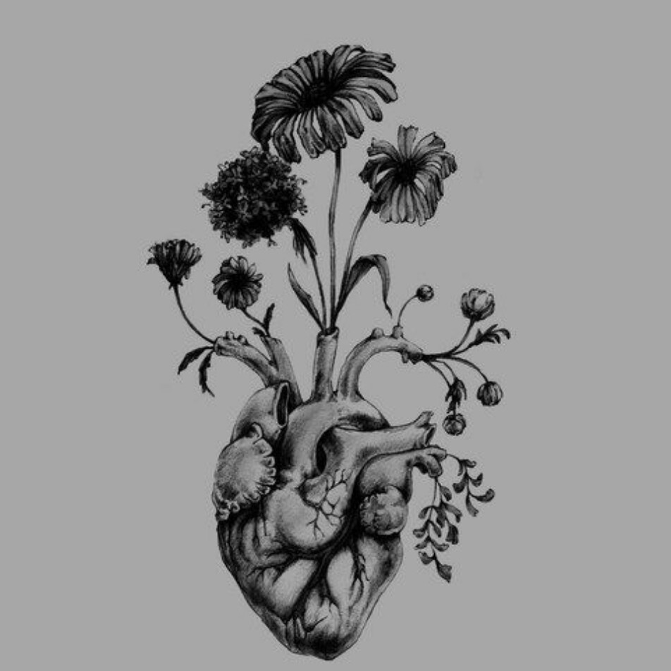Feminine Anatomical Heart | Tattoo.com