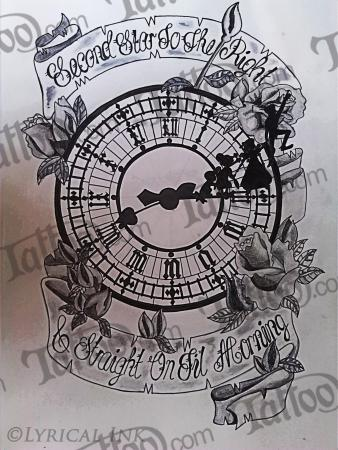 Neverland Tattoo Design