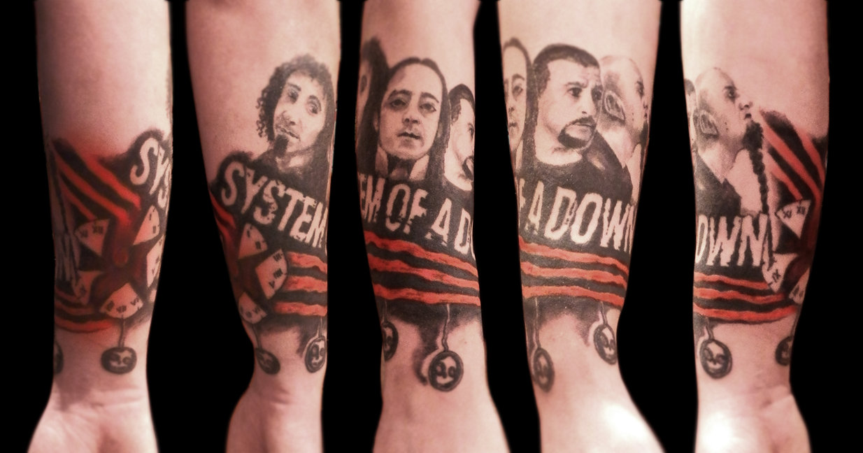 System of a down тату