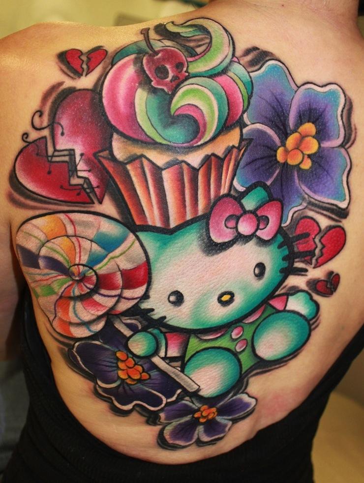10 Funky New School Tattoos | Tattoo.com